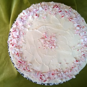Smashed Peppermint top view